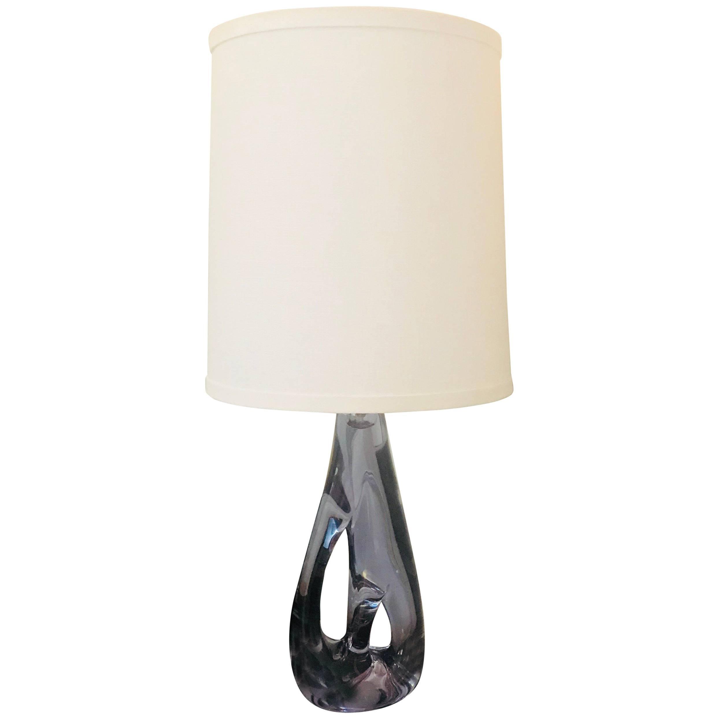 Lamp Crystal Sèvres Elegant Shape Antiques Antique Furniture