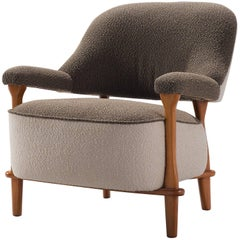 Theo Ruth for Artifort Reupholstered 'Lady' Armchair F109