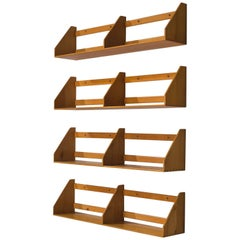 Børge Mogensen Wall-Mounted Bookshelves