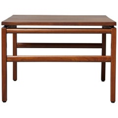 Mid-Century Modern Gunlocke Walnut Side Table, 1960s