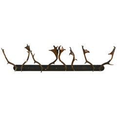 Wall Mounted Antler Rack