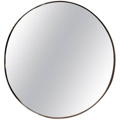 Vintage Chrome Infinity Mirror