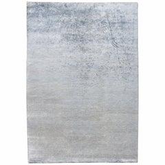 Plain Silver Rug