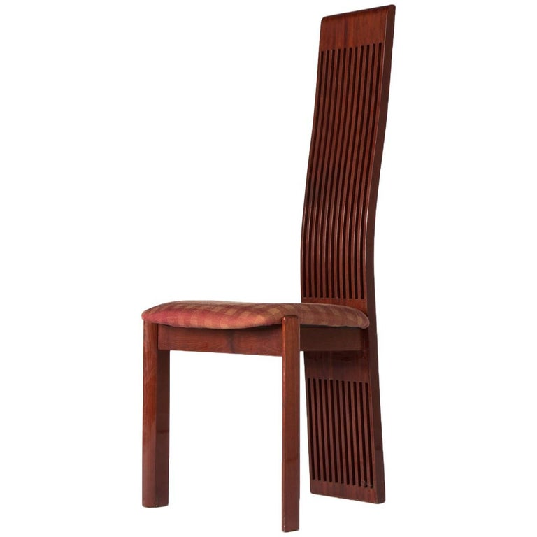 High Back Chair By Pietro Costantini For