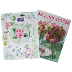 Cathy Graham Custom Designed Slipcase Edition of 'Second Bloom'