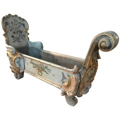 Italian 19th Century Lit De Presentation, Presentation Bed