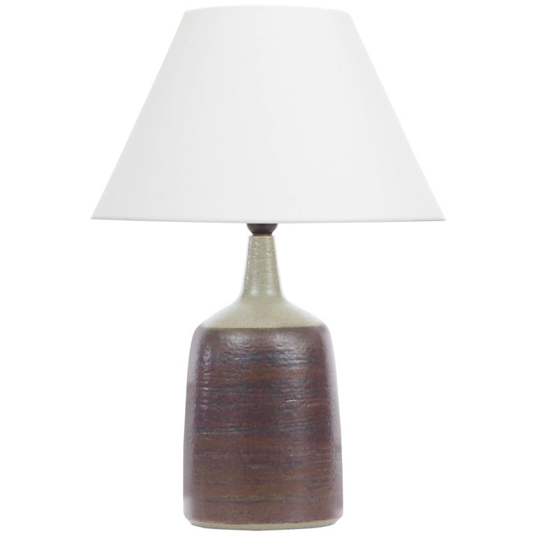 Mid-Century Modern Scandinavian Large Table Lamp by Peter Linnemann-Schmidt