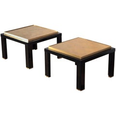 Pair of Vintage End Tables from the 1970s