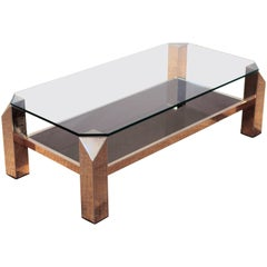 Coffee Table by Belgo Chrome, 1970s