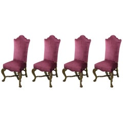 18th Century Venetian High Back Chairs