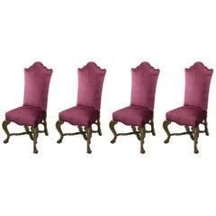 18th Century Venetian High Back Chairs