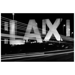 """Entrance to Los Angeles International Airport - LAX"" Print by Gregg Felsen"