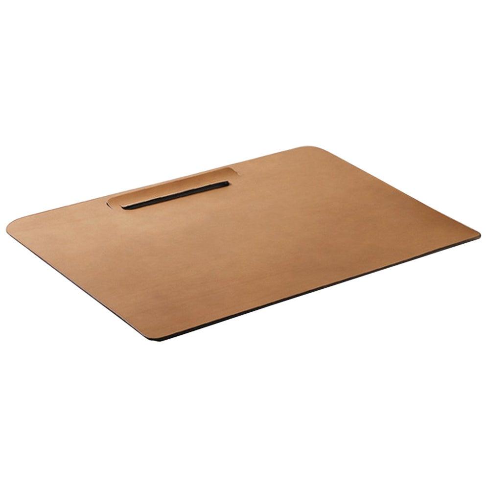 """Simone"" Leather Desk Blotter Designed by Claude Bouchard for Oscar Maschera"
