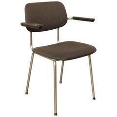 Gispen Bent Chrome Tube Chair 1236