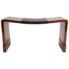 Deco Bench in the Manner of Eileen Grey