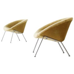 Set of Two 369 Side Lounge Chair by Walter Knoll Chair Mid-Century Modern, 1950s