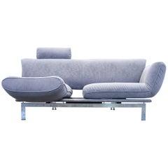 De Sede Ds 140 Designer Sofa Fabric Grey Function Couch Modern