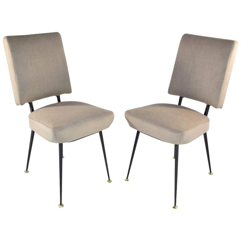 Pair of French Mid-Century Chairs