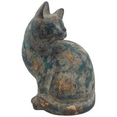 Art Deco Cat Figure