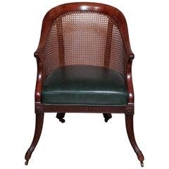 Fine Regency Gondola Armchair