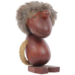 "Mid-Century Modern Scandinavian Figurine ""Optimist"" by Hans Bølling"