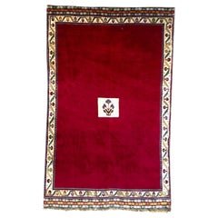 Coveted Persian Qasghai Gabbeh Persian Rug Semi Nomadic Handwoven Carpet