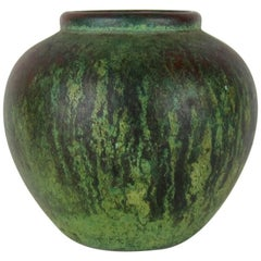 Charles Walter Clewell Copper Clad Art Pottery Vase