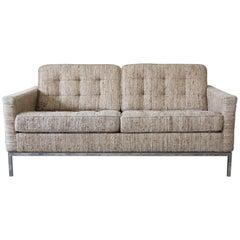 Florence Knoll Loveseat Sofa for Knoll International, 1977
