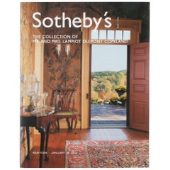 Sotheby's Catalogue The Collection of Mr. and Mrs. Lammot Du Pont Copeland