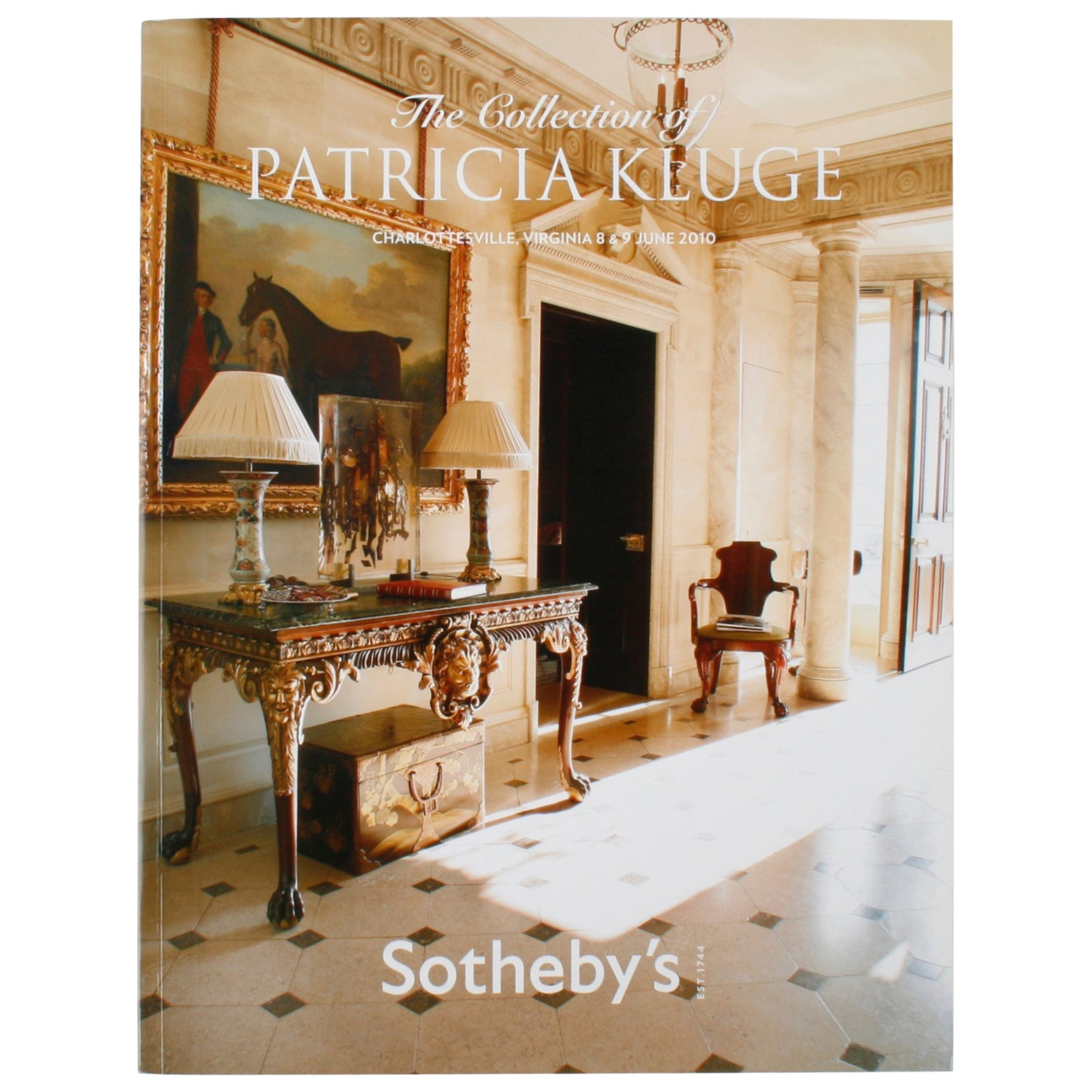 Sothebyu0027s The Collection Of Patricia Kluge Charlottesville, Virginia At  1stdibs