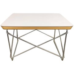 Charles and Ray Eames Low Table Rod Side Table