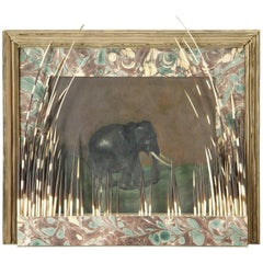 Contemporary Work of Cardboard and Porcupine, France, 19th Century