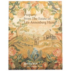 Sothebys May 1996 Property from the Estate of Lita Annenberg Hazen