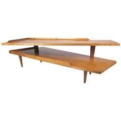 Midcentury Pivot Style Coffee Table