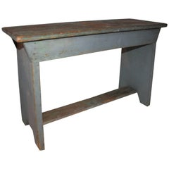 19th Century Bench in Original Painted Surface