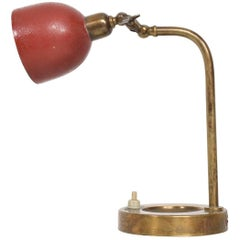 Mid-Century Modern Italian Table Lamp, Wall Sconce with Ashtray