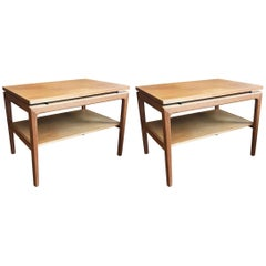 Pair of France & Sons Side Tables