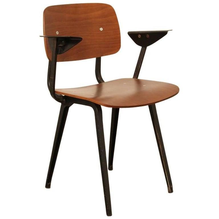 Revolt Chair by Friso Kramer for Ahrend Cirkel with Armrests