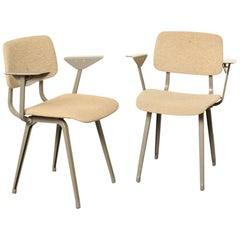 Revolt Chair by Friso Kramer for Ahrend Cirkel Upholstered, Pair