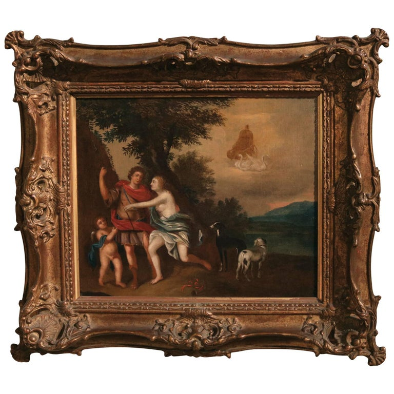 18th Century oil painting from the Sschool of Jan van Neck