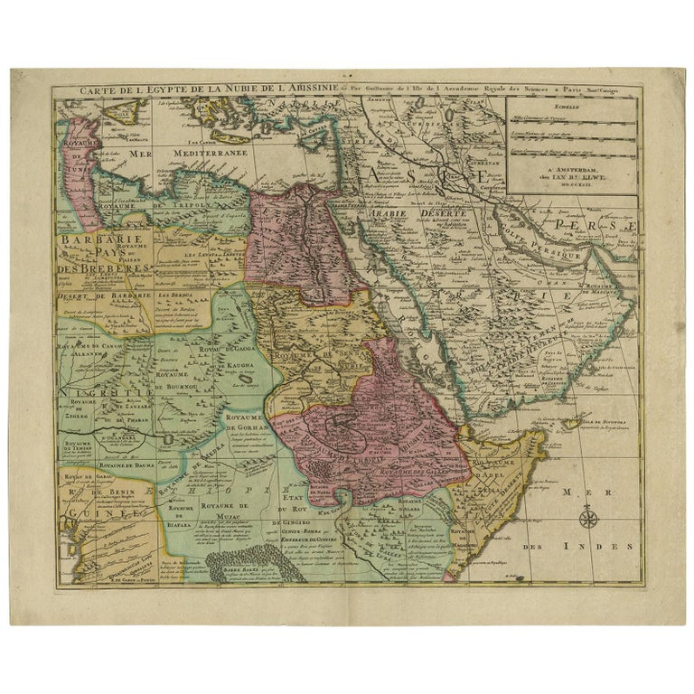 Antique map of central africa by jb elwe 1792 for sale at 1stdibs antique map of central africa by jb elwe 1792 for sale gumiabroncs Gallery