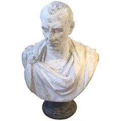 Julius Caesar Plaster Bust
