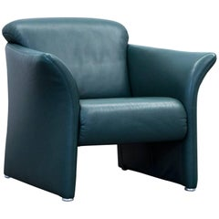 Koinor Designer Armchair Leather Green Three-Seat Couch Modern