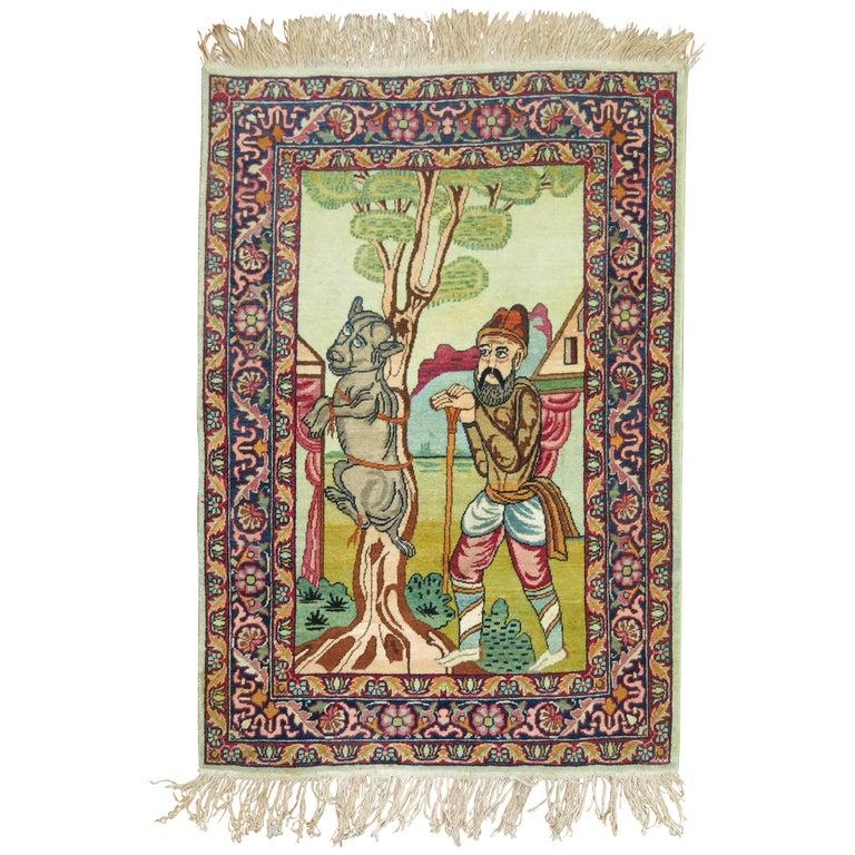 Pictorial Persian Rug