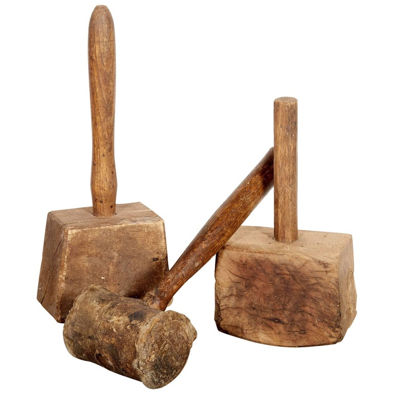 Early American Wood Mallets