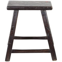 Antique Chinese Painted Stool