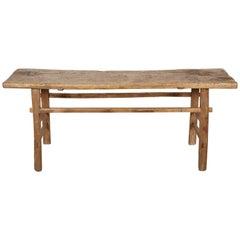 Simple Primitive Antique Farm Table
