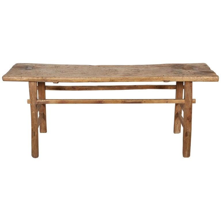 Simple Primitive Antique Farm Table For Sale - Simple Primitive Antique Farm Table For Sale At 1stdibs