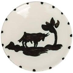 Pablo Picasso Ltd Edn Taureau Sous L'arbre Plate 1952