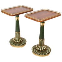 Exceptionally Fine Pair of Stands